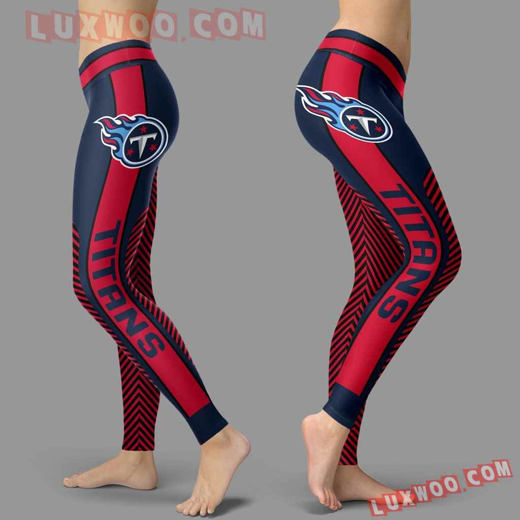 Nfl Tennessee Titans Leggings 3d Custom Print Leggings Sport V1