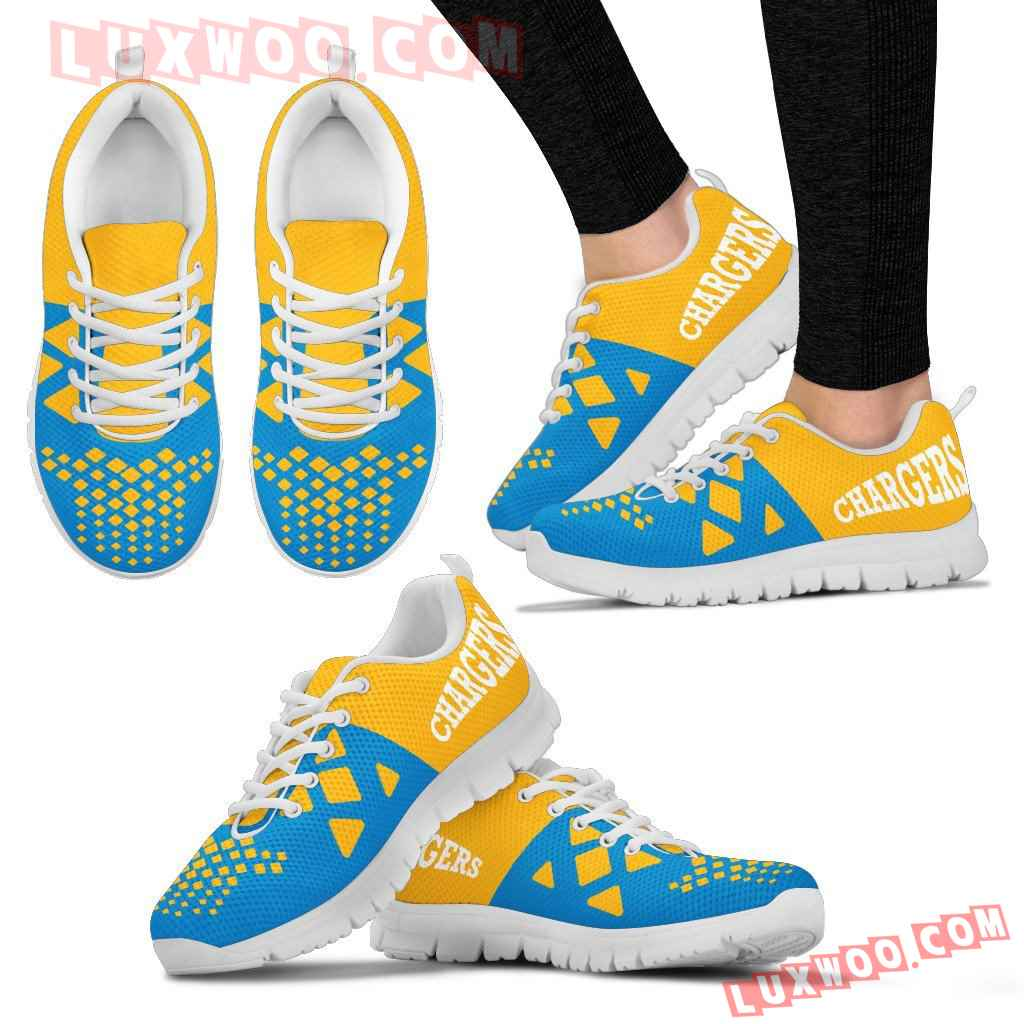 Nfl Los Angeles Chargers Running Shoes Sneaker Custom Shoes V2