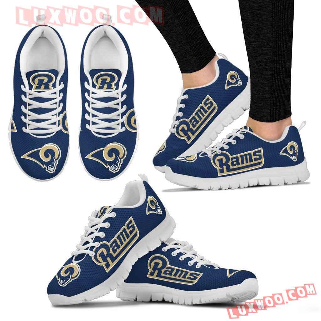 Nfl Los Angeles Rams Running Shoes Sneaker Custom Shoes V1