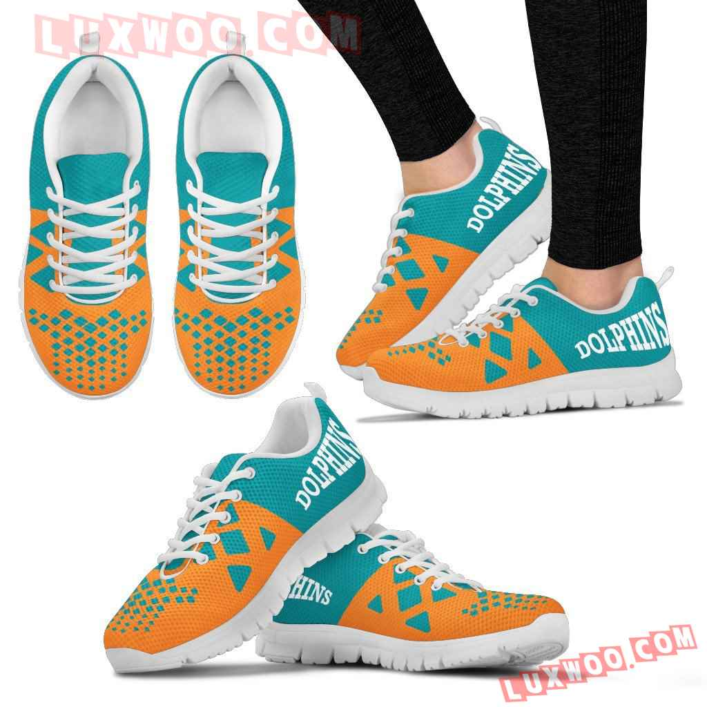 Nfl Miami Dolphins Running Shoes Sneaker Custom Shoes V2