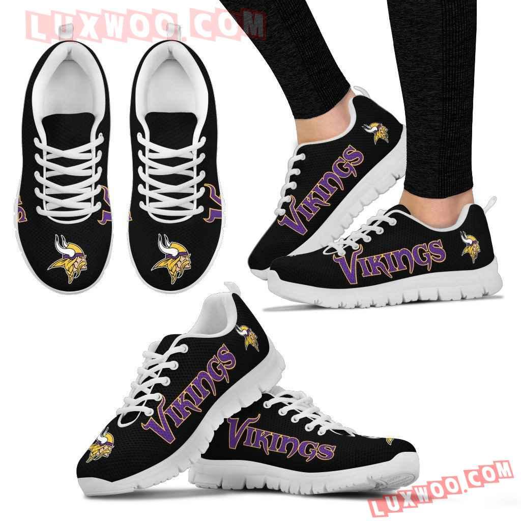 Nfl Minnesota Vikings Running Shoes Sneaker Custom Shoes V1