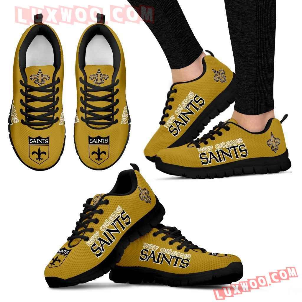 Nfl New Orleans Saints Running Shoes Sneaker Custom Shoes V1