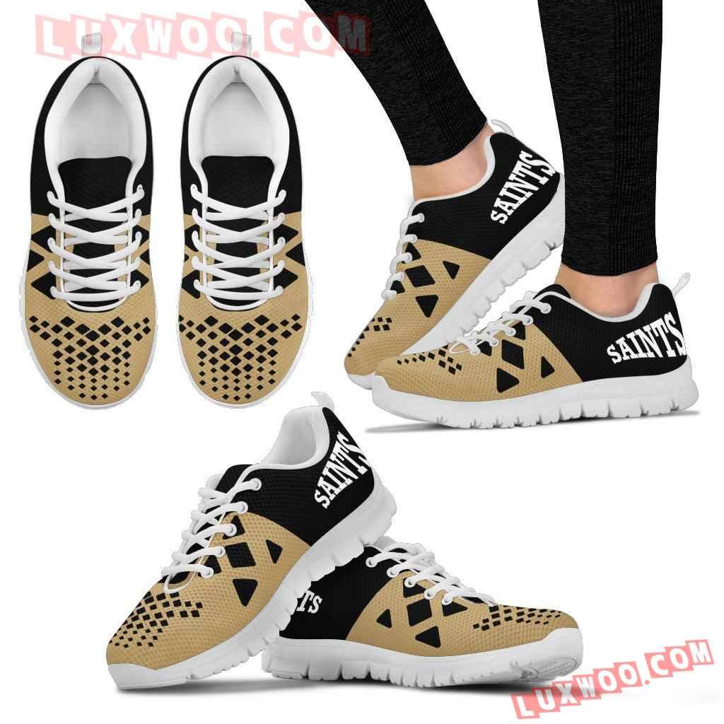 Nfl New Orleans Saints Running Shoes Sneaker Custom Shoes V2