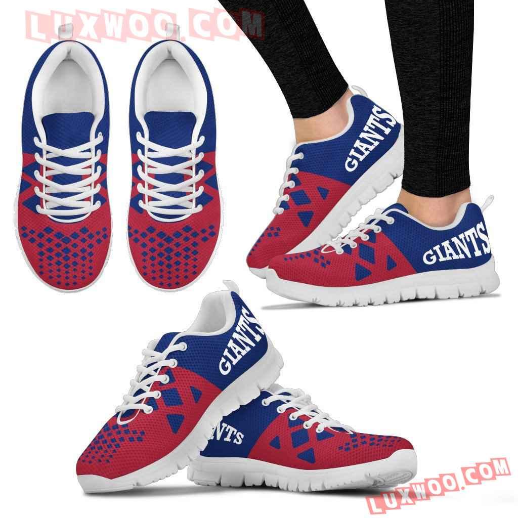 Nfl New York Giants Running Shoes Sneaker Custom Shoes V2