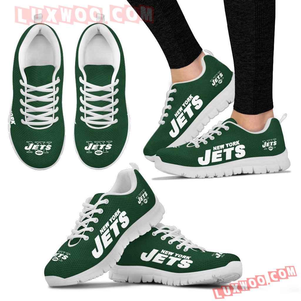 Nfl New York Jets Running Shoes Sneaker Custom Shoes V1