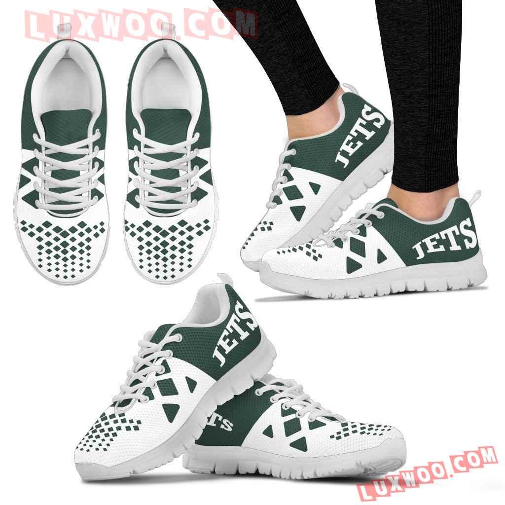 Nfl New York Jets Running Shoes Sneaker Custom Shoes V2