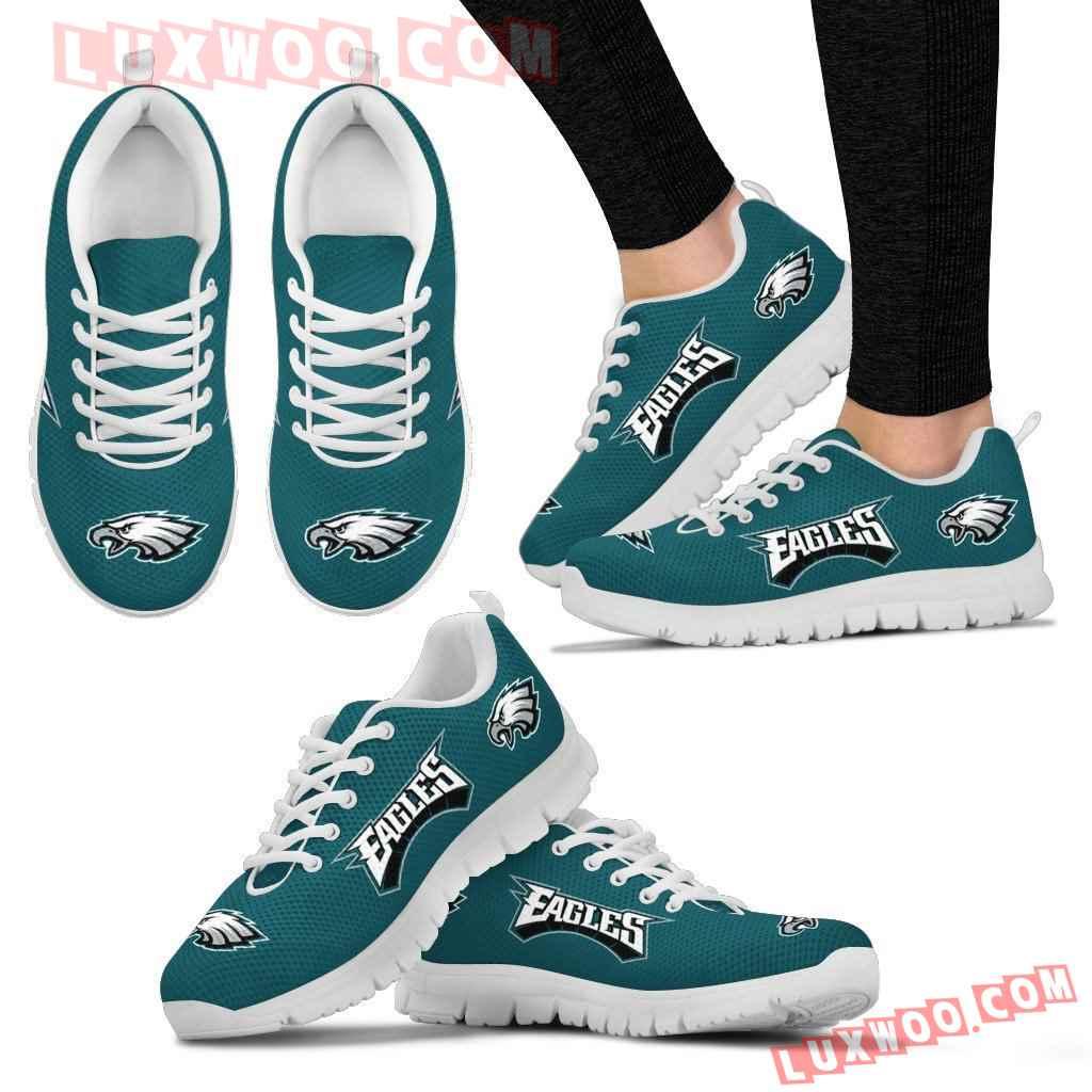 Nfl Philadelphia Eagles Running Shoes Sneaker Custom Shoes V1