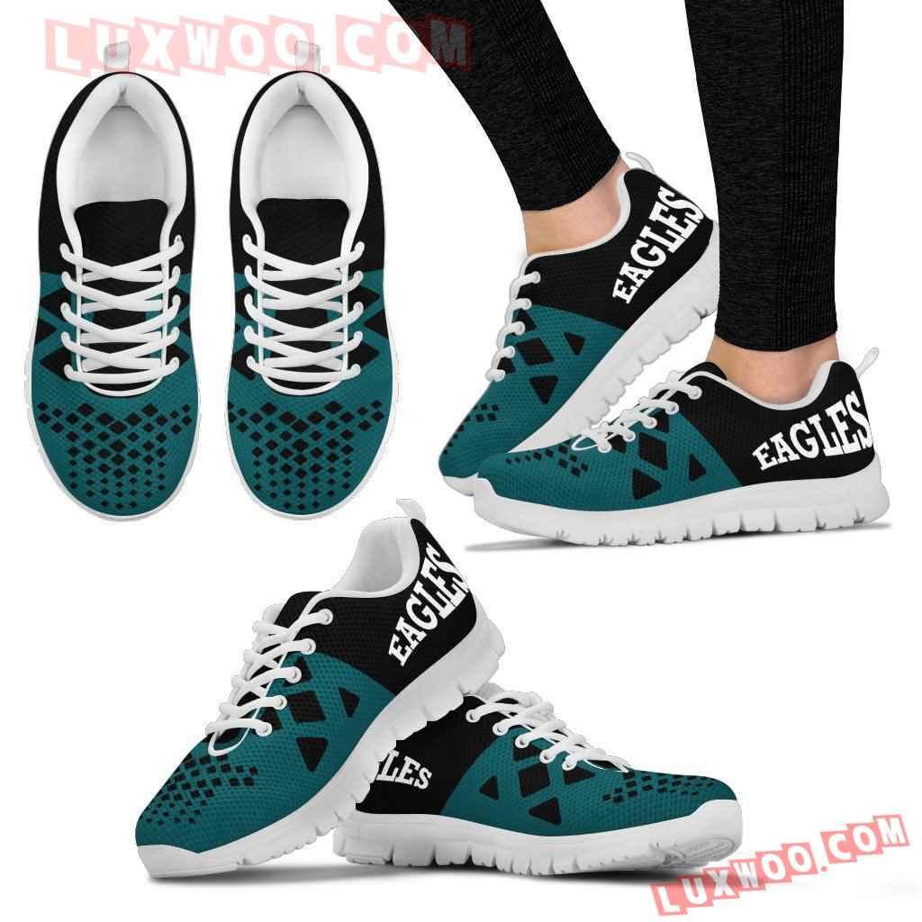 Nfl Philadelphia Eagles Running Shoes Sneaker Custom Shoes V2