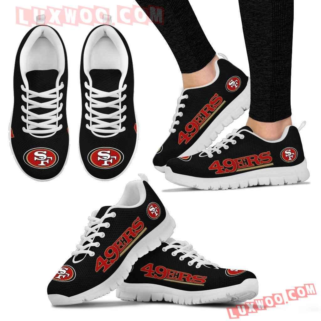 Nfl San Francisco 49ers Running Shoes Sneaker Custom Shoes V1