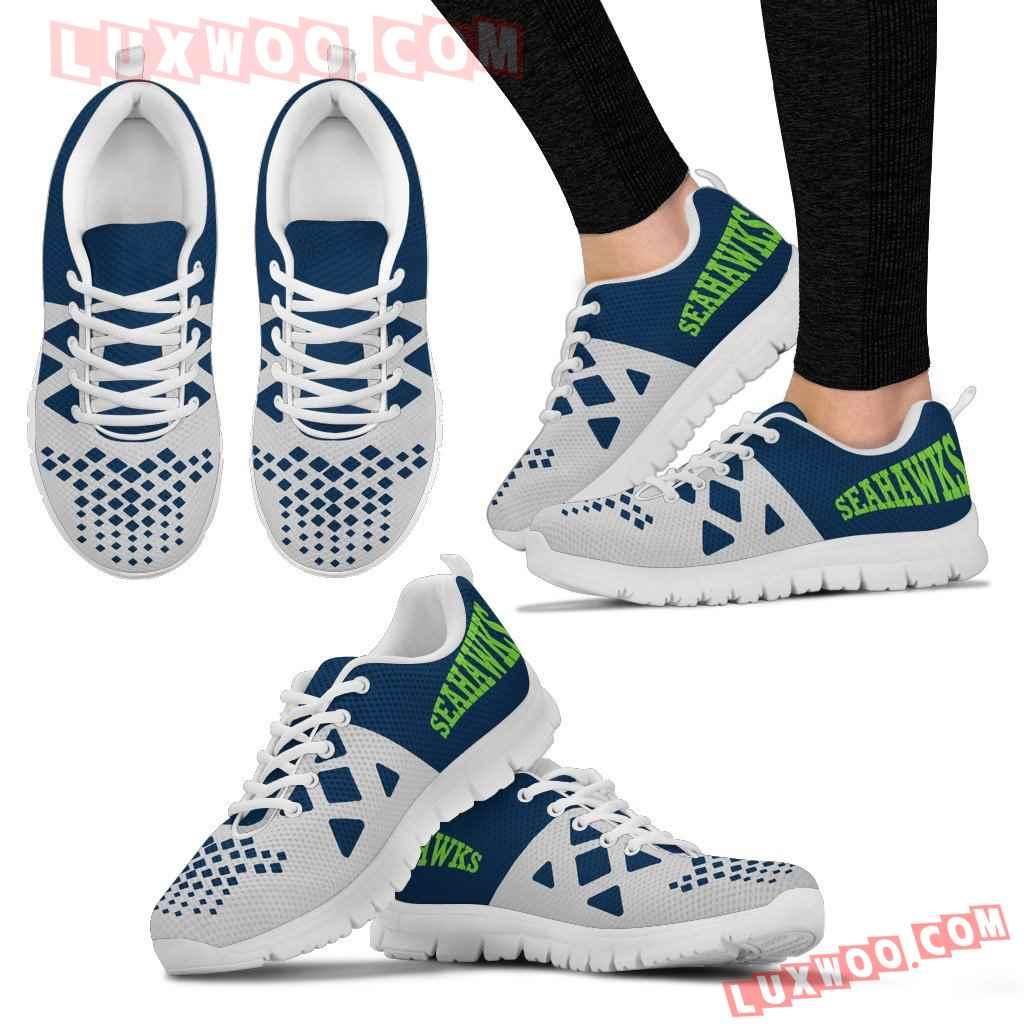 Nfl Seattle Seahawks Running Shoes Sneaker Custom Shoes V2