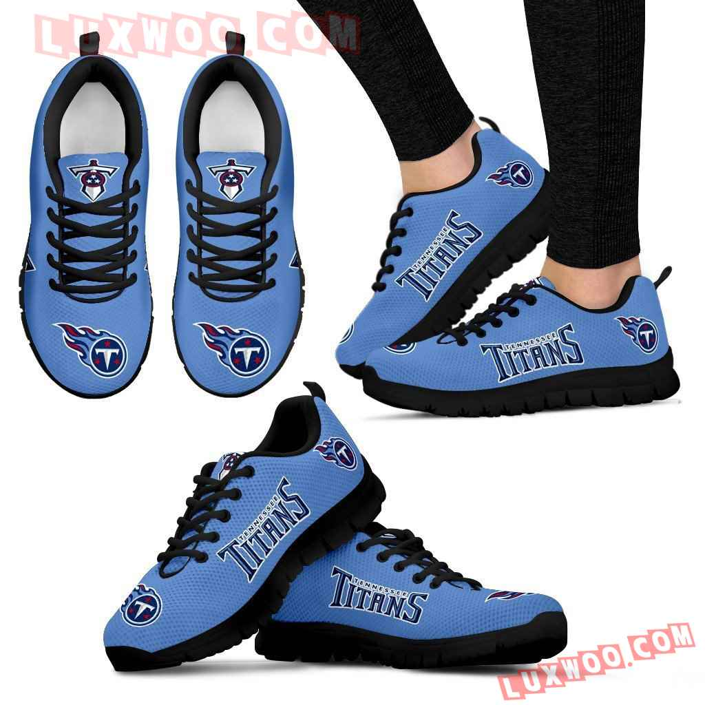 Nfl Tennessee Titans Running Shoes Sneaker Custom Shoes V1
