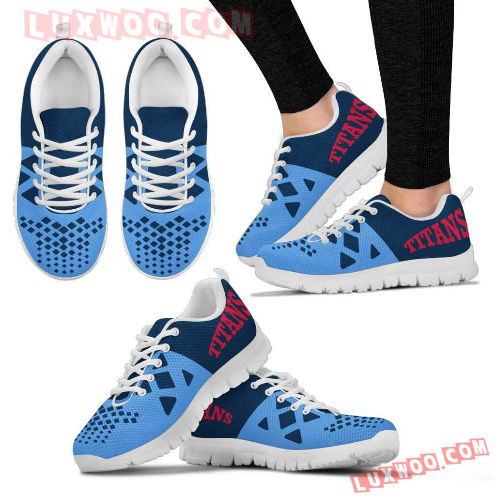 Nfl Tennessee Titans Running Shoes Sneaker Custom Shoes V2