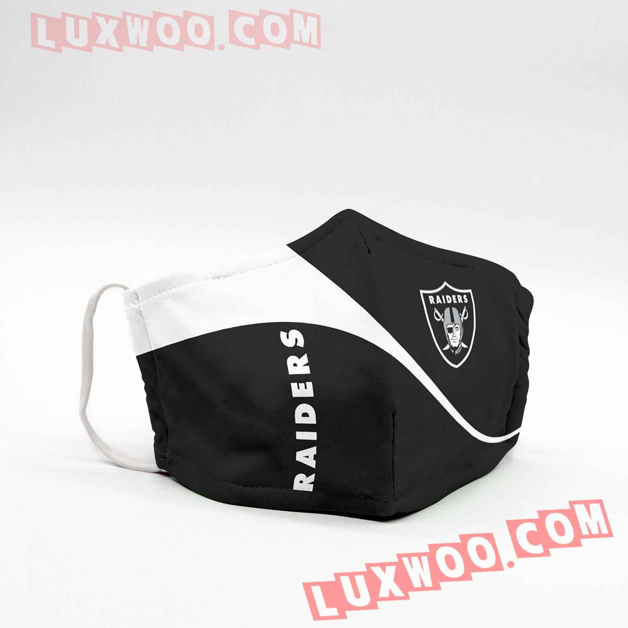 Oakland Raiders 3d Face Mask V2