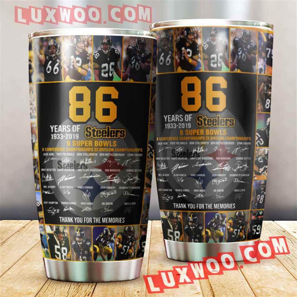 86th Pittsburgh Steelers Nfl 3d Tumbler V1