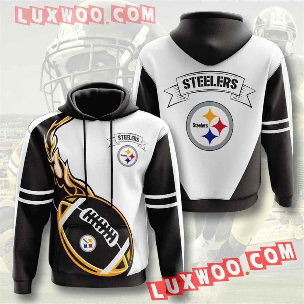 Nfl Pittsburgh Steelers Hoodies Custom All Over Print 3d Pullover Hoodie V22