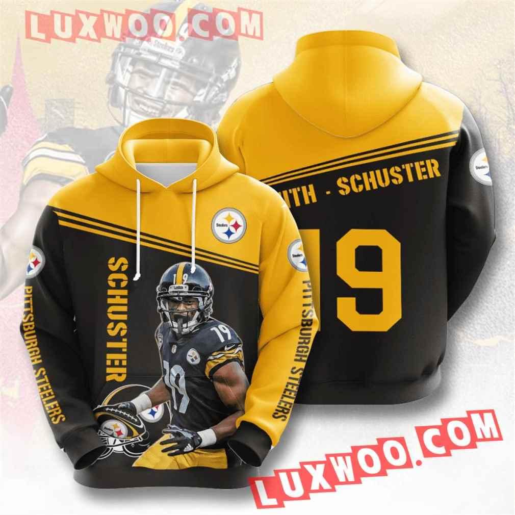 Nfl Pittsburgh Steelers Hoodies Custom All Over Print 3d Pullover Hoodie V25