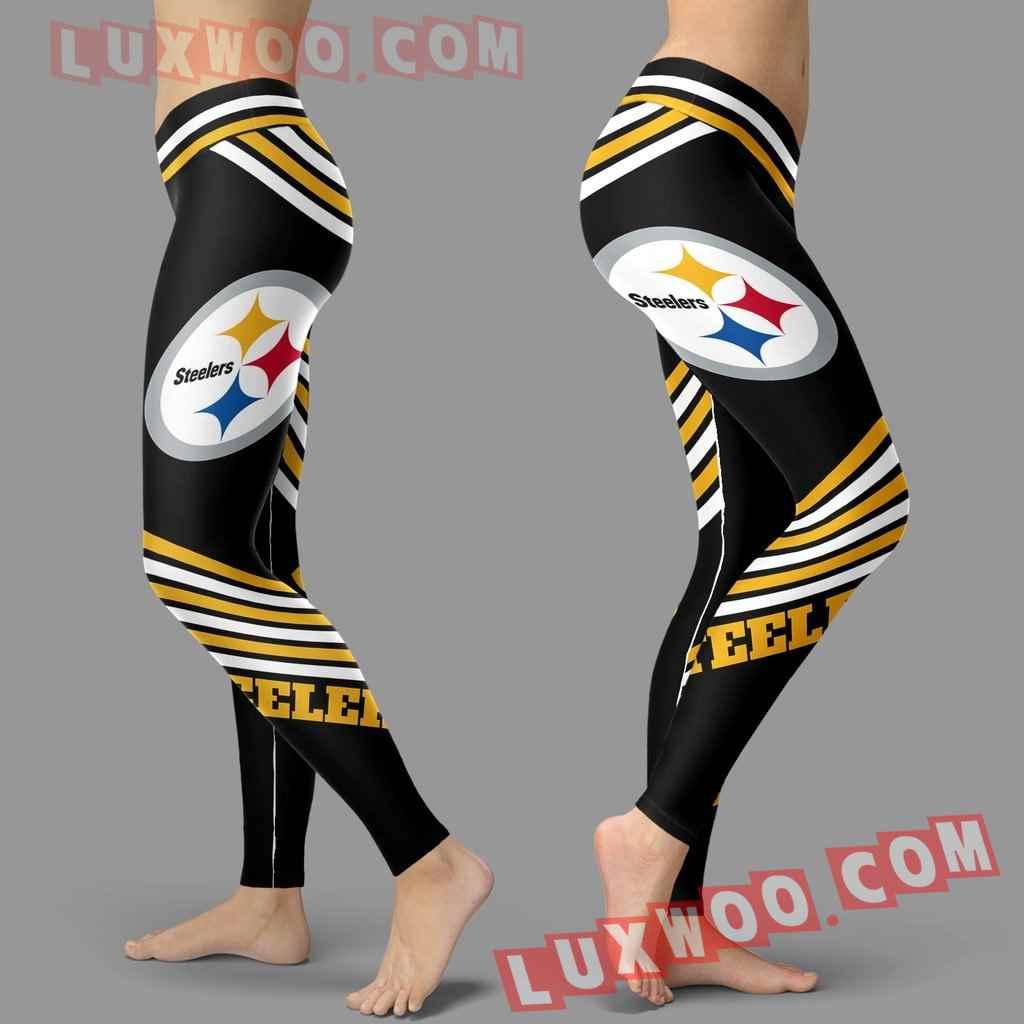 Nfl Pittsburgh Steelers Leggings Custom All Over Print 3d Leggings V2