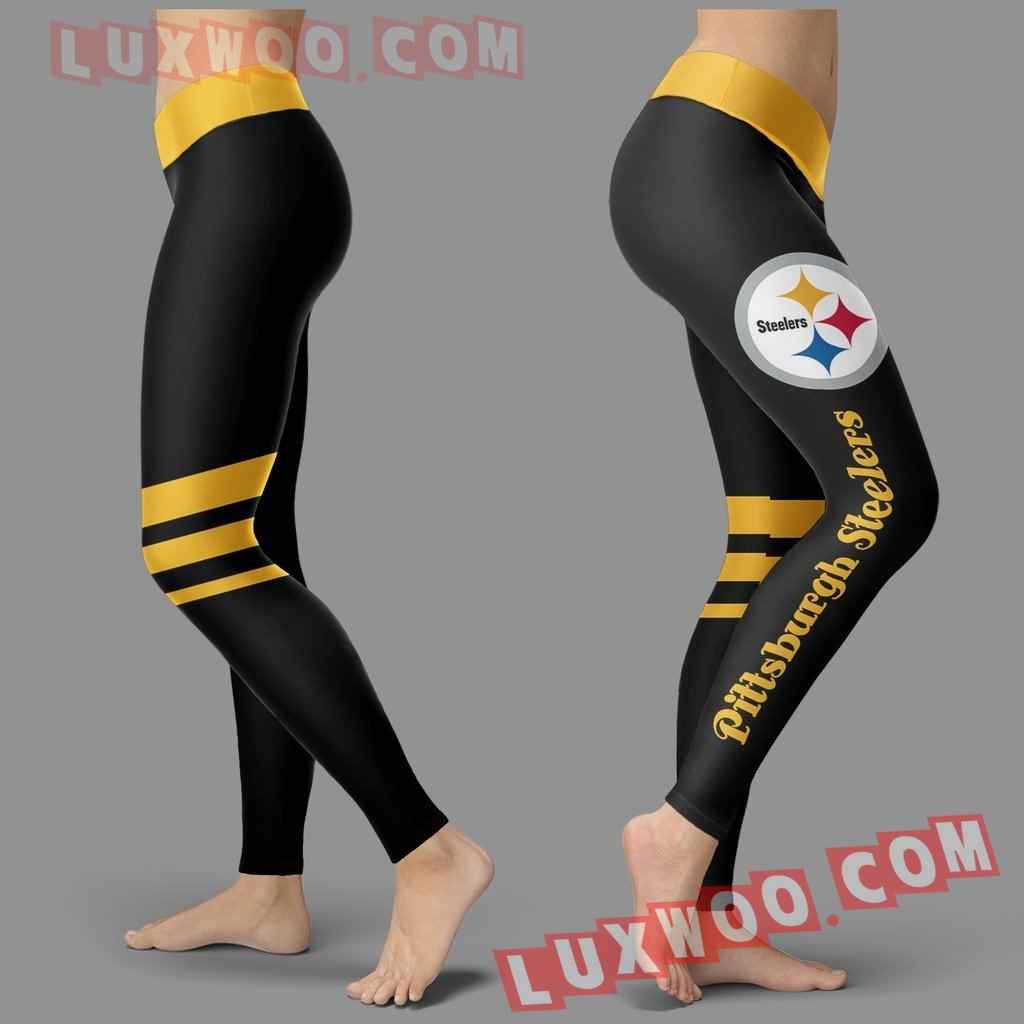 Nfl Pittsburgh Steelers Leggings Custom All Over Print 3d Leggings V3