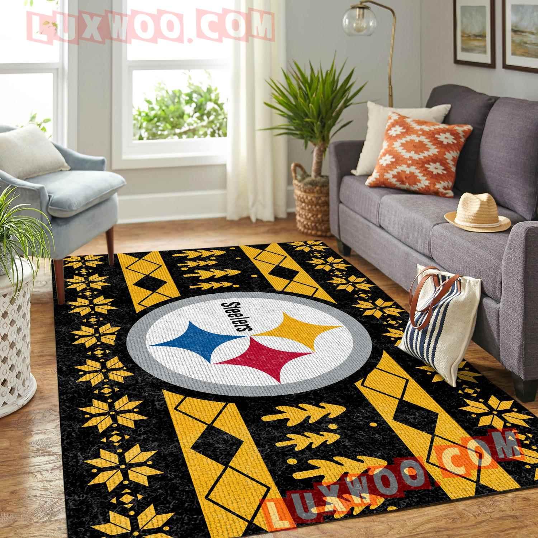 Pittsburgh Steelers Nfl 3d Living Room Rugs V10