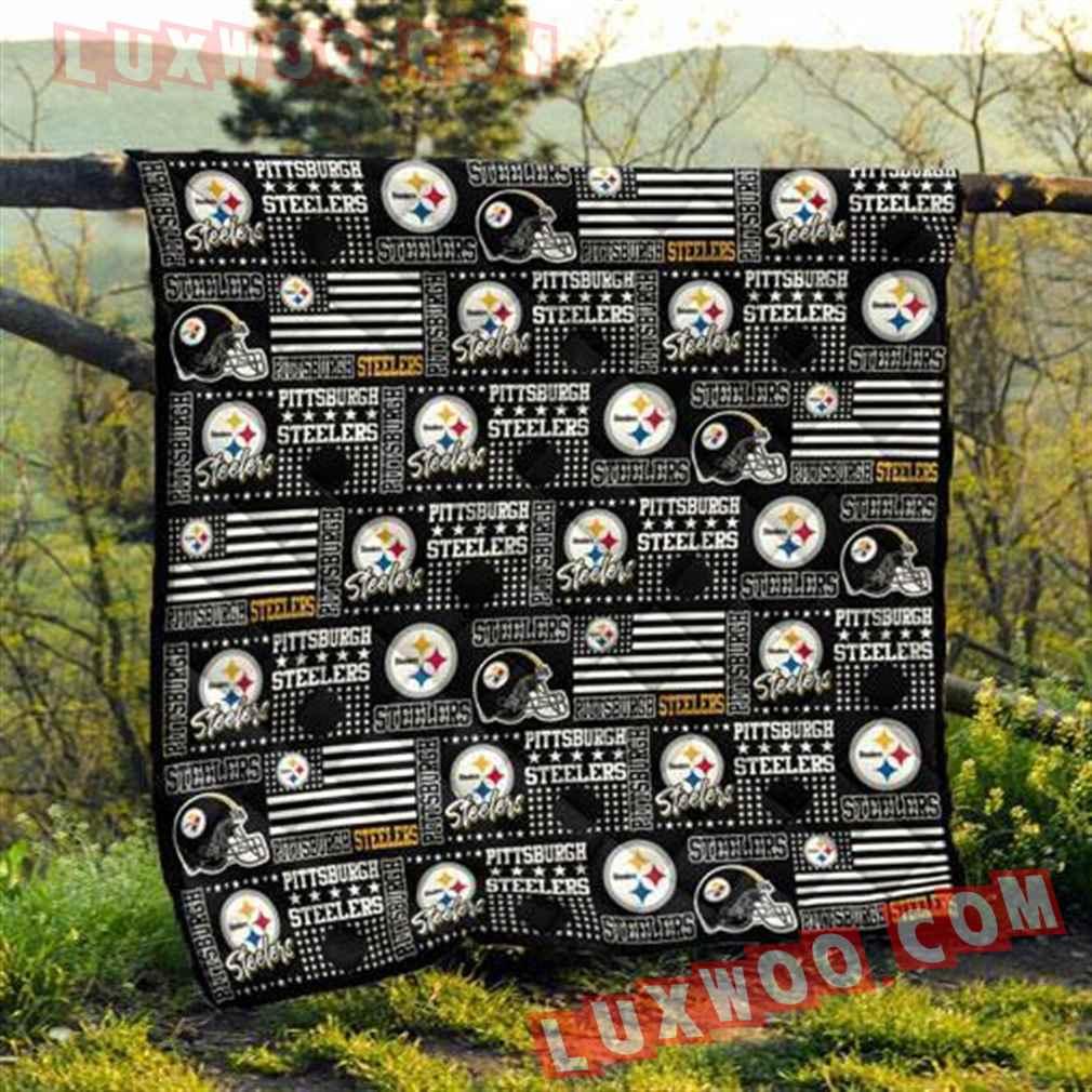 Pittsburgh Steelers Nfl 3d Quilt Blanket V1