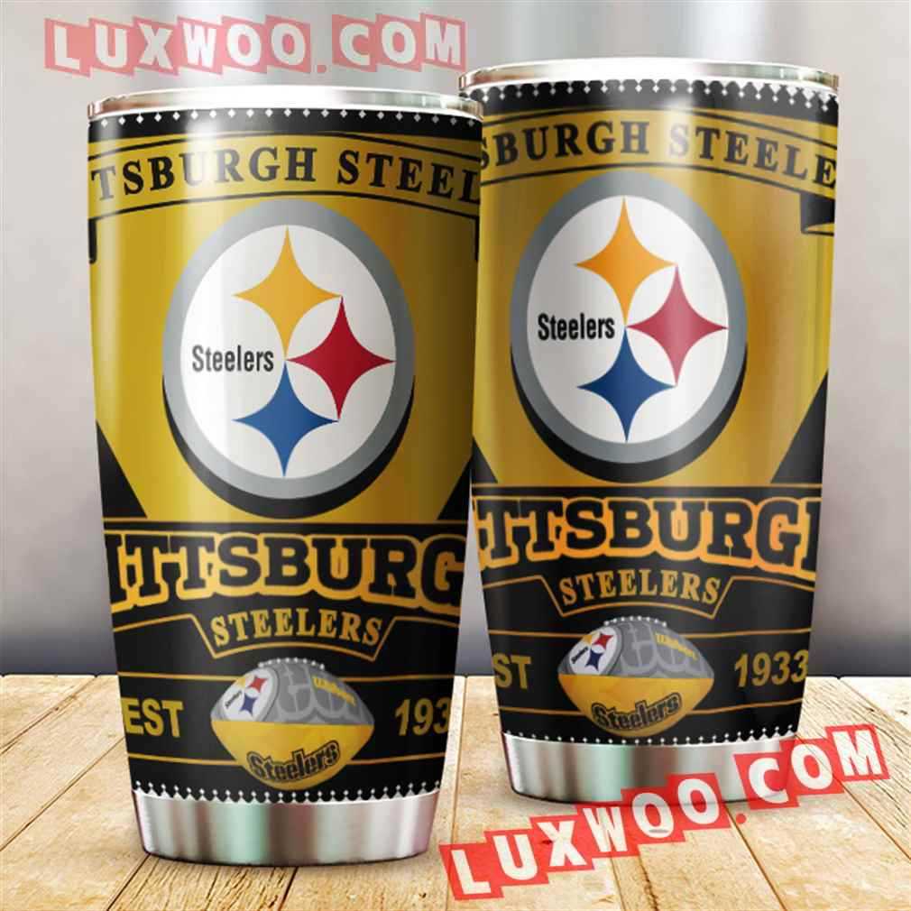 Pittsburgh Steelers Nfl 3d Tumbler V2
