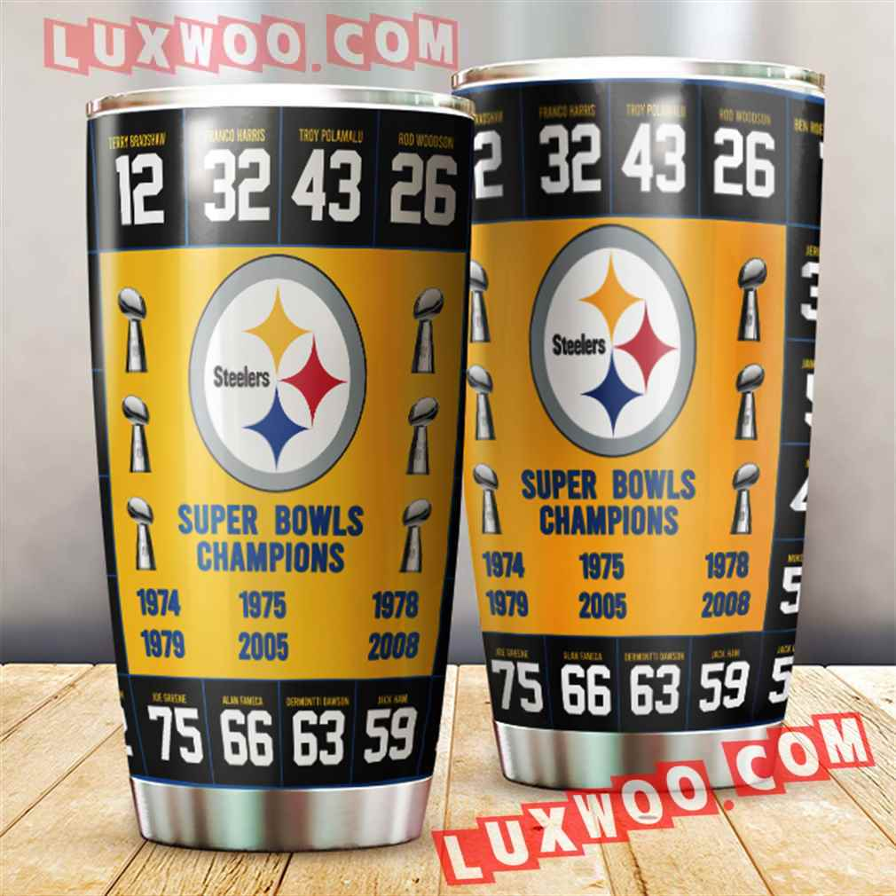 Pittsburgh Steelers Nfl 3d Tumbler V3