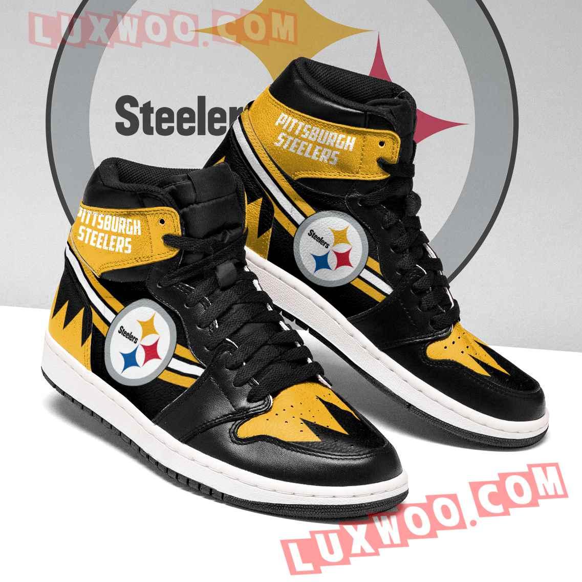Pittsburgh Steelers Nfl Air Jordan 1 Custom Shoes Sneaker V4