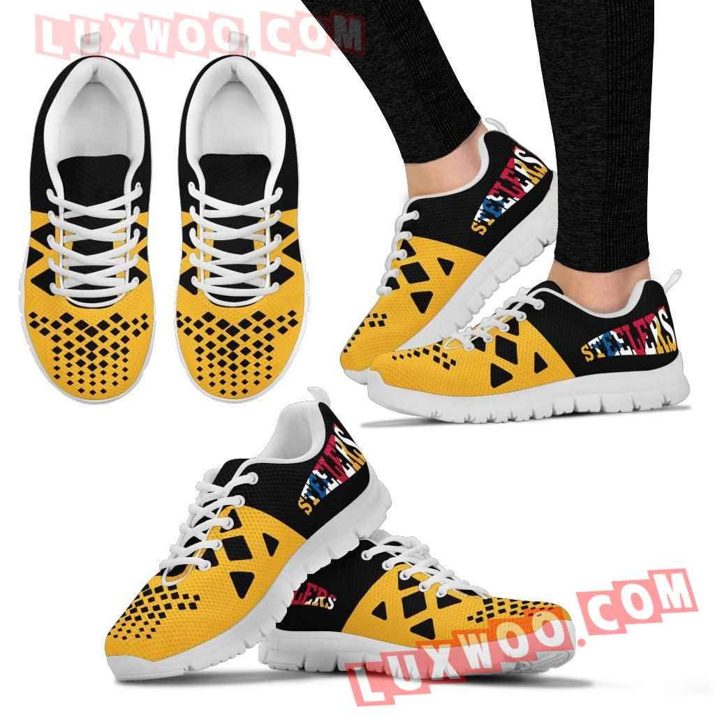 Pittsburgh Steelers Nfl Custom Shoes Sneaker V2
