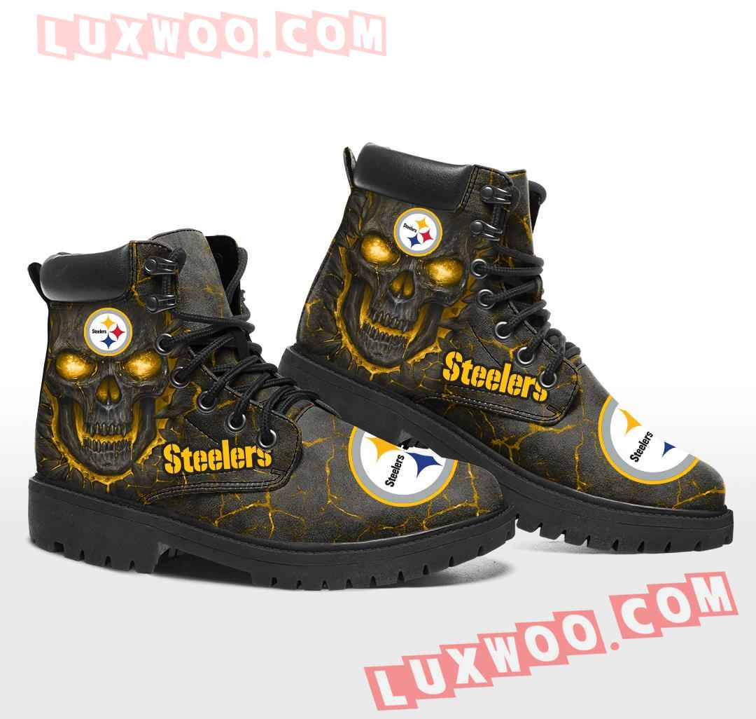 Pittsburgh Steelers Nfl Season Boots Shoes V1
