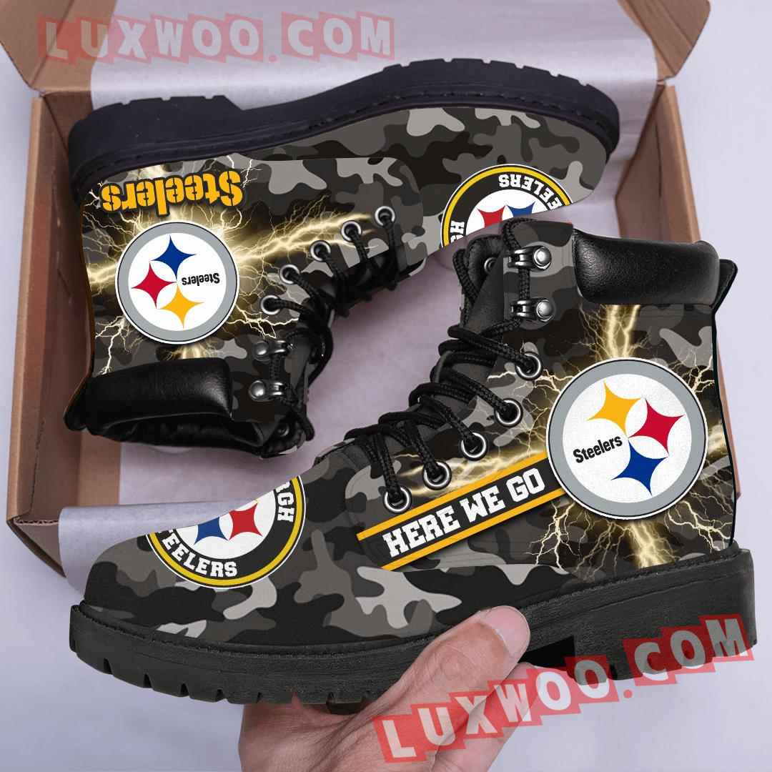 Pittsburgh Steelers Nfl Season Boots Shoes V2