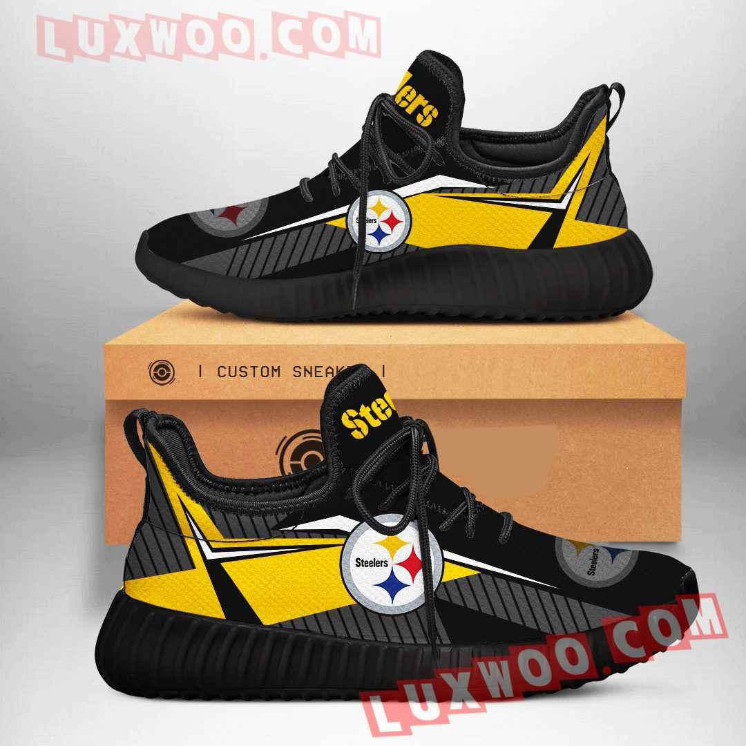 Pittsburgh Steelers Nfl Yezzy Custom Shoes Sneaker V1