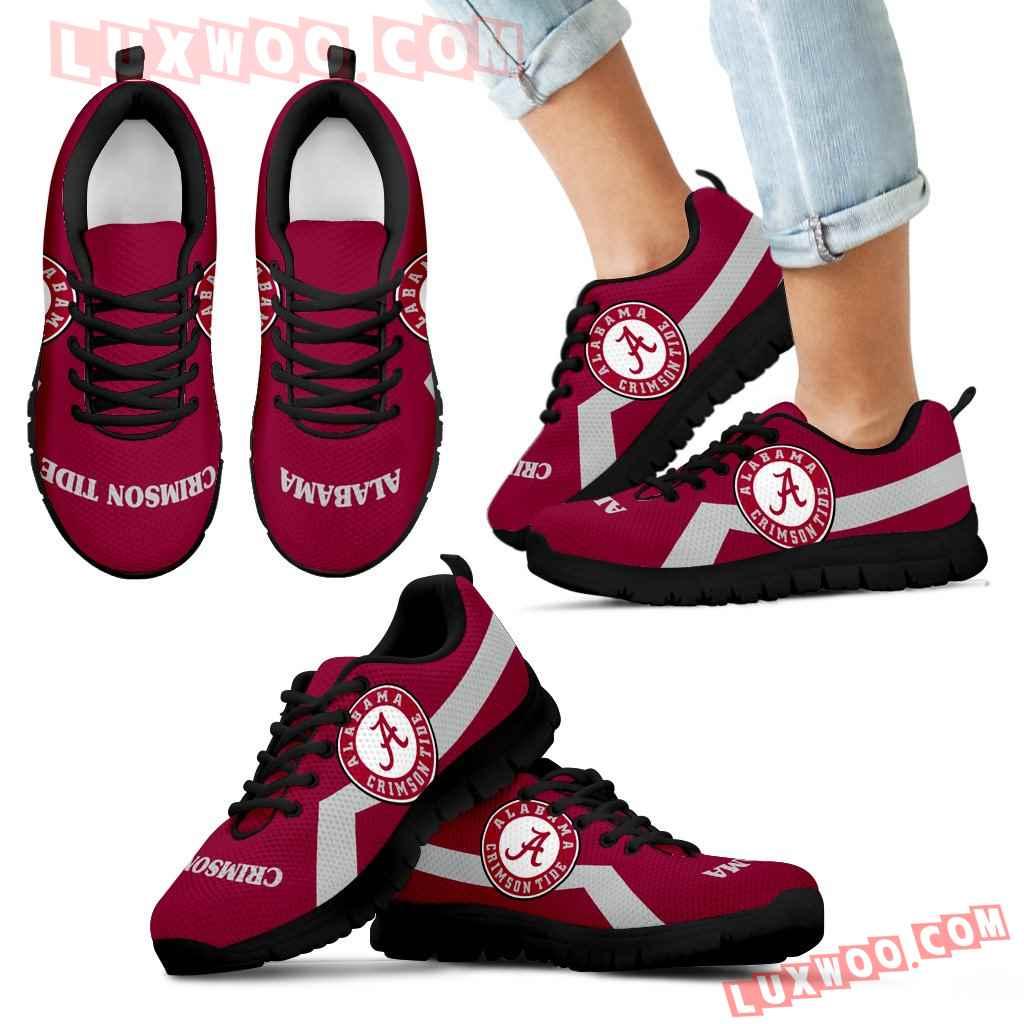 Alabama Crimson Tide Line Logo Sneakers