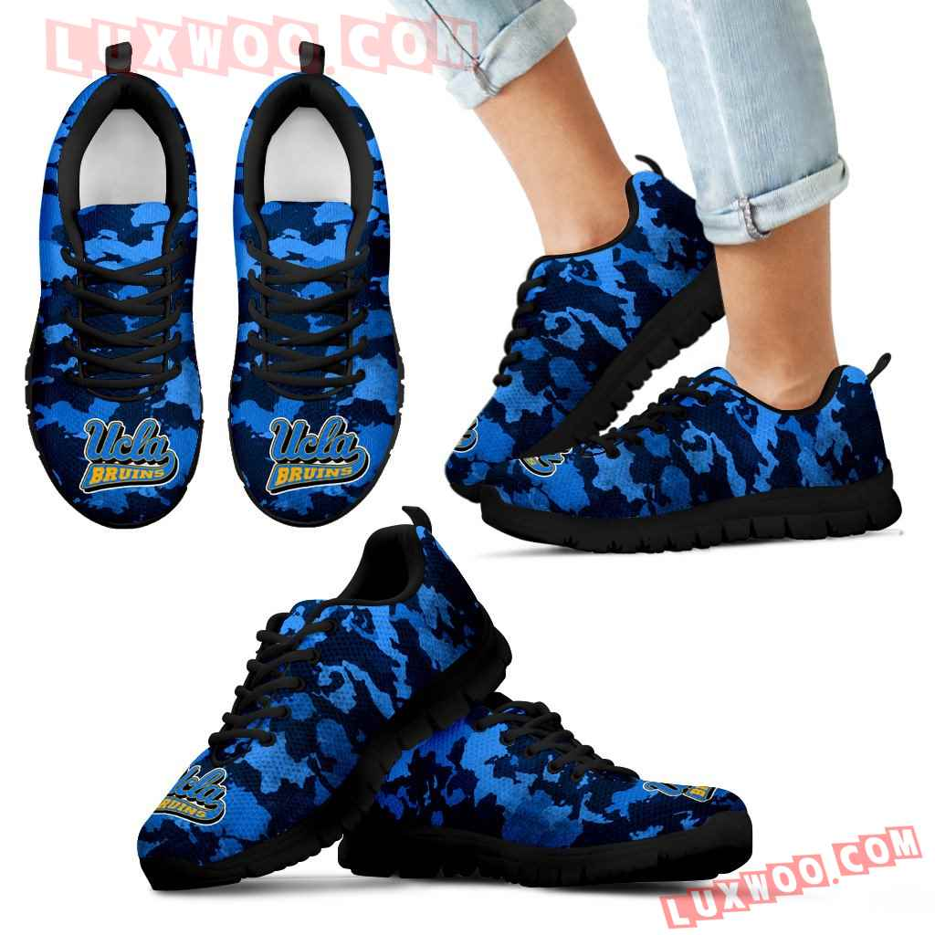 Arches Top Fabulous Camouflage Background Ucla Bruins Sneakers