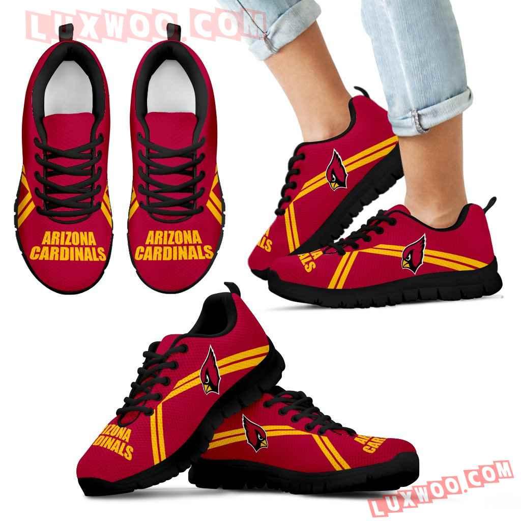 Arizona Cardinals Parallel Line Logo Sneakers