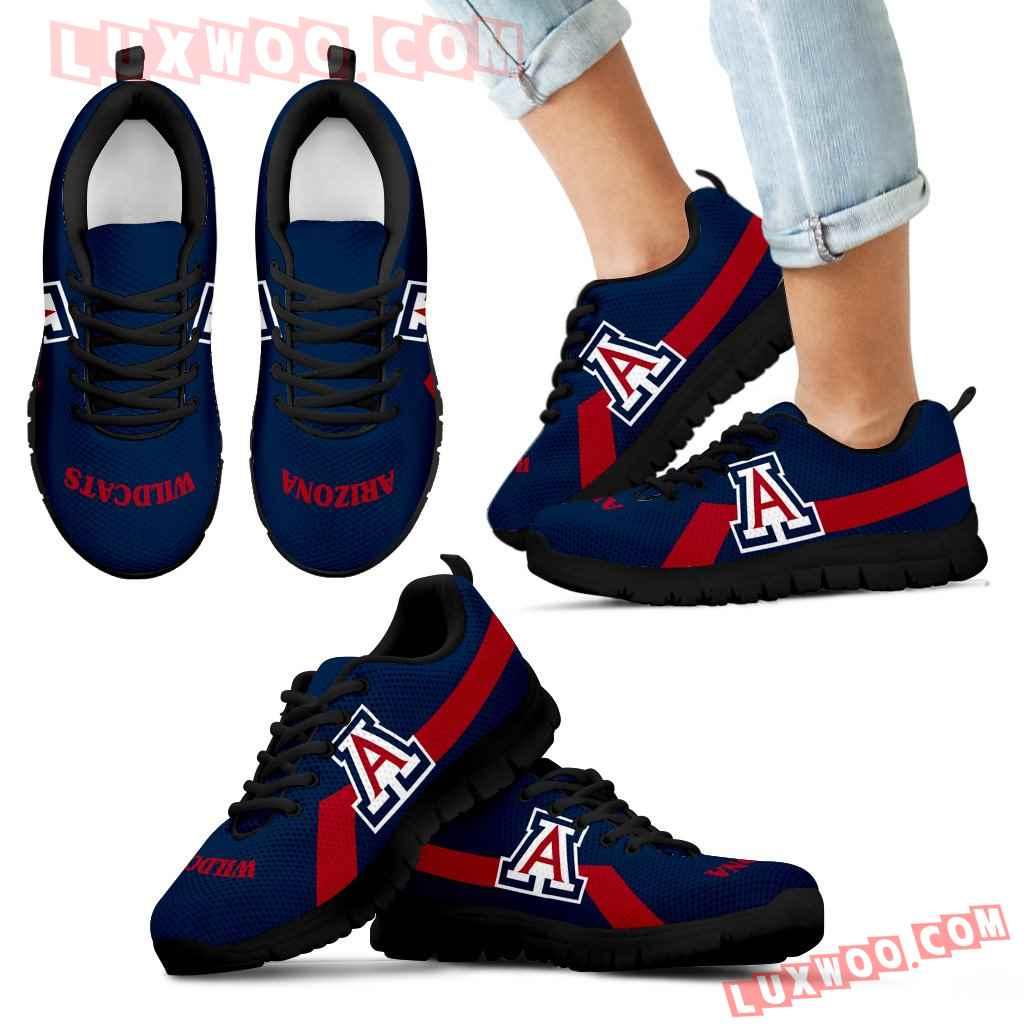 Arizona Wildcats Line Logo Sneakers