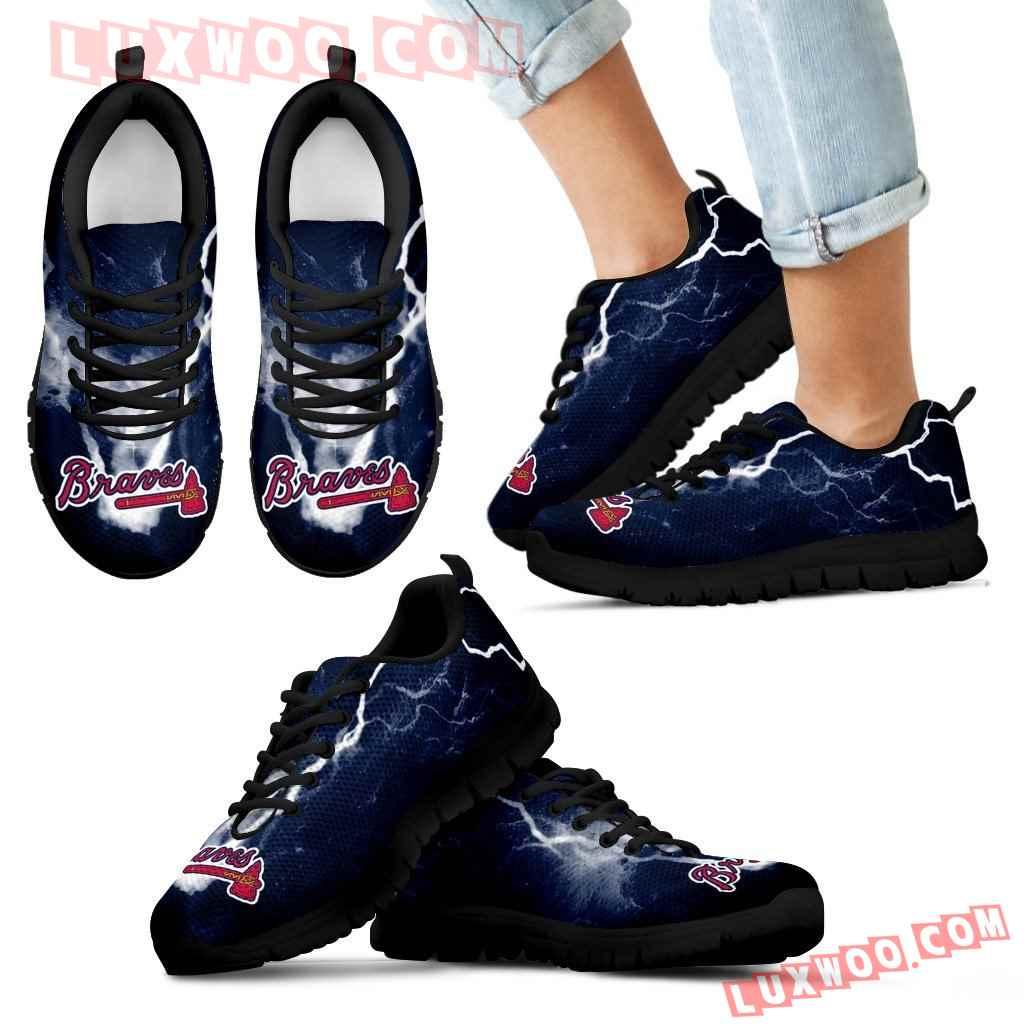 Atlanta Braves Thunder Power Sneakers