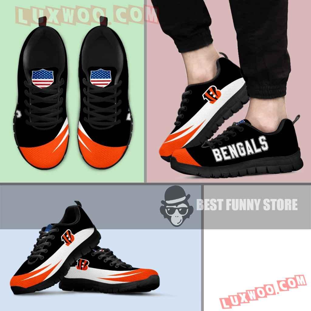 Awesome Gift Logo Cincinnati Bengals Sneakers