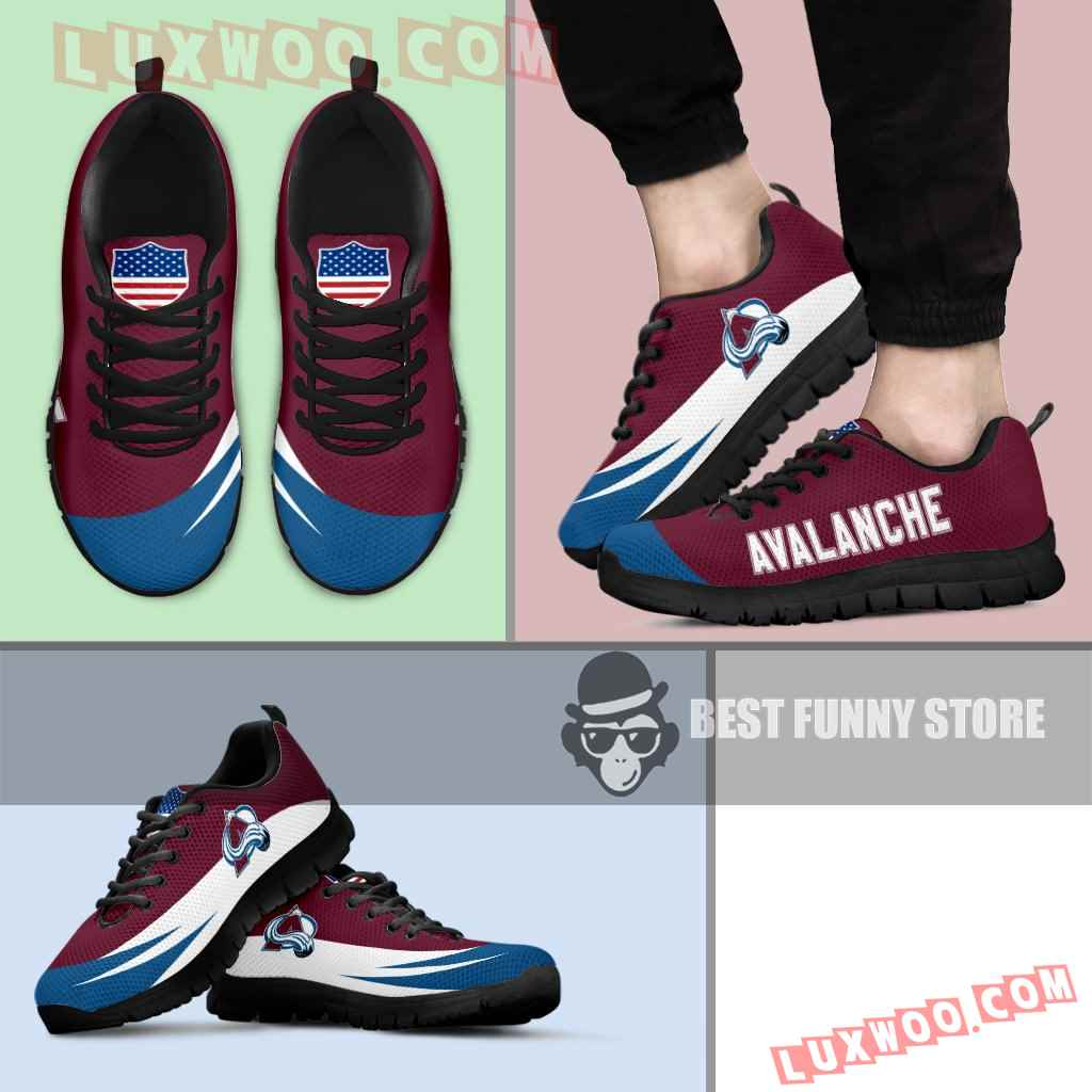 Awesome Gift Logo Colorado Avalanche Sneakers