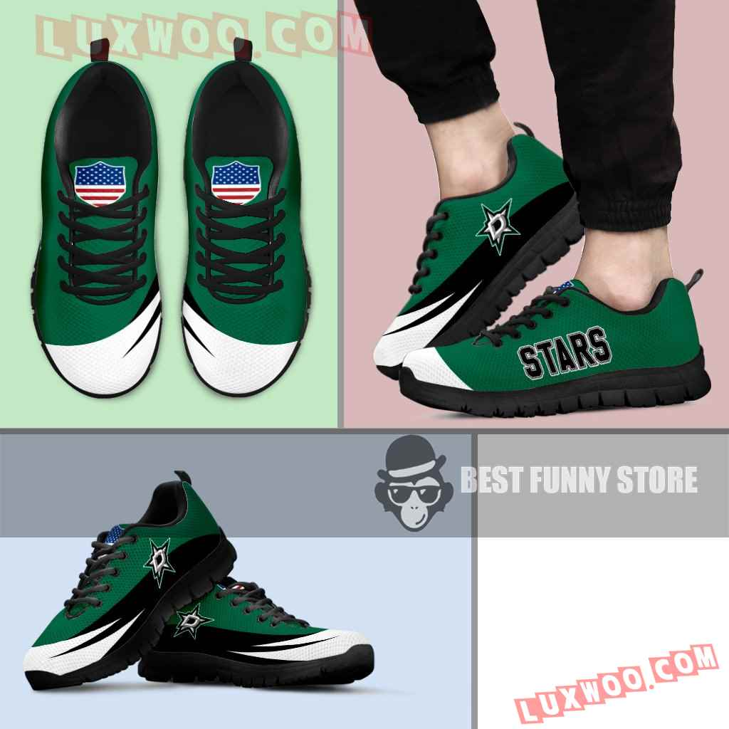 Awesome Gift Logo Dallas Stars Sneakers
