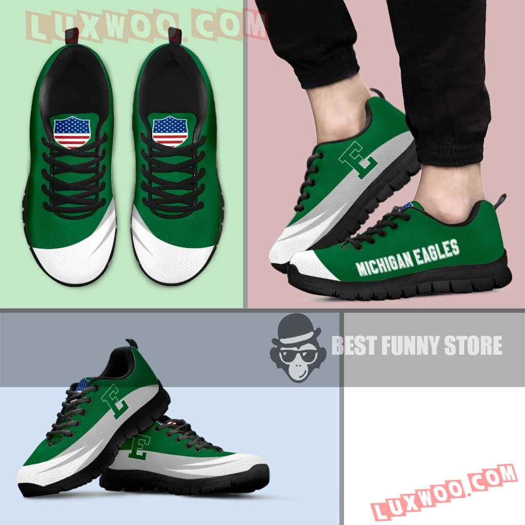 Awesome Gift Logo Eastern Michigan Eagles Sneakers