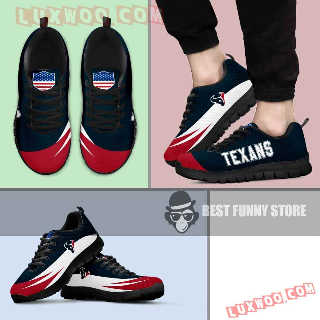Awesome Gift Logo Houston Texans Sneakers