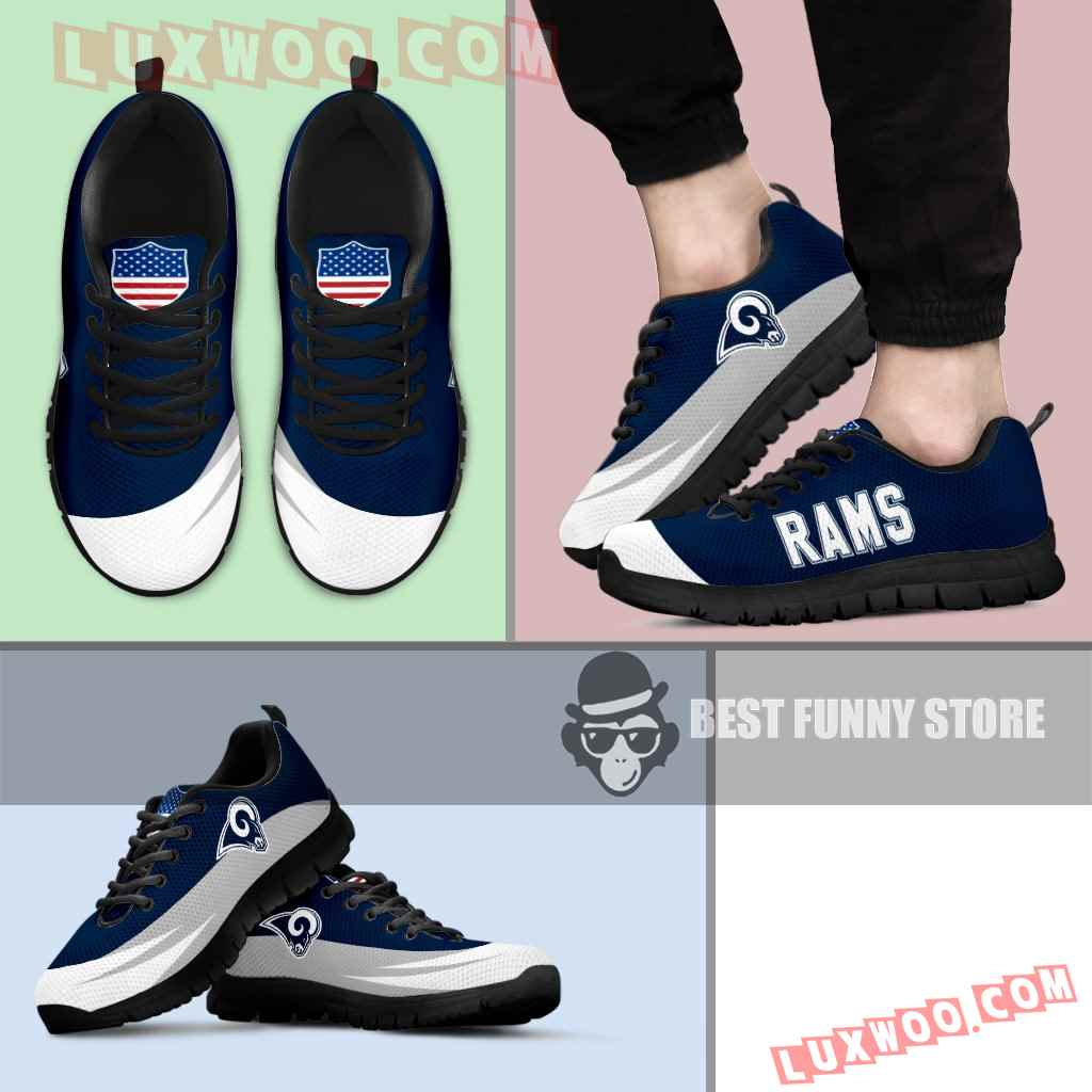 Awesome Gift Logo Los Angeles Rams Sneakers