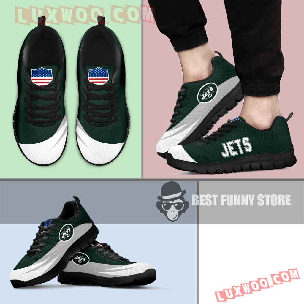 Awesome Gift Logo New York Jets Sneakers