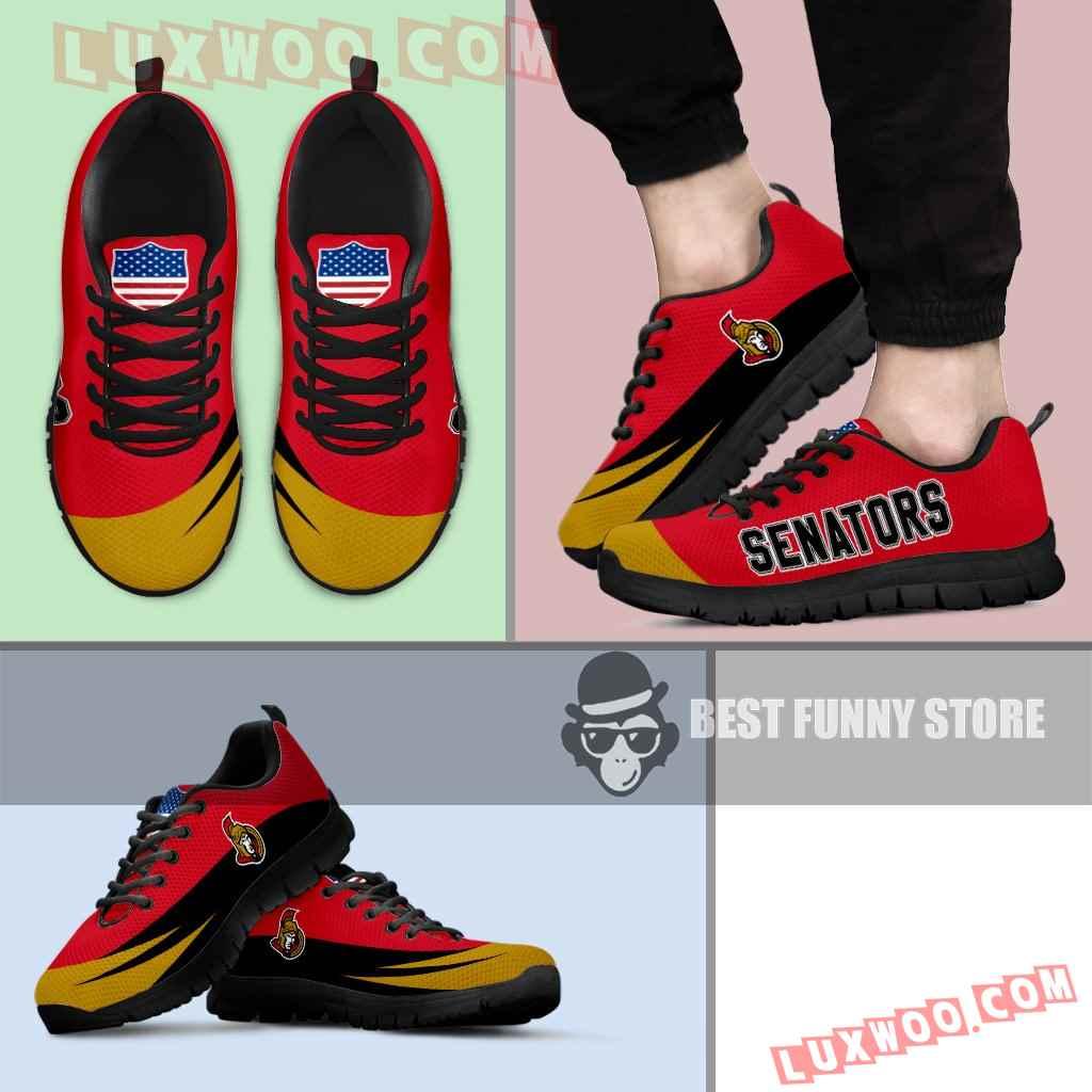 Awesome Gift Logo Ottawa Senators Sneakers