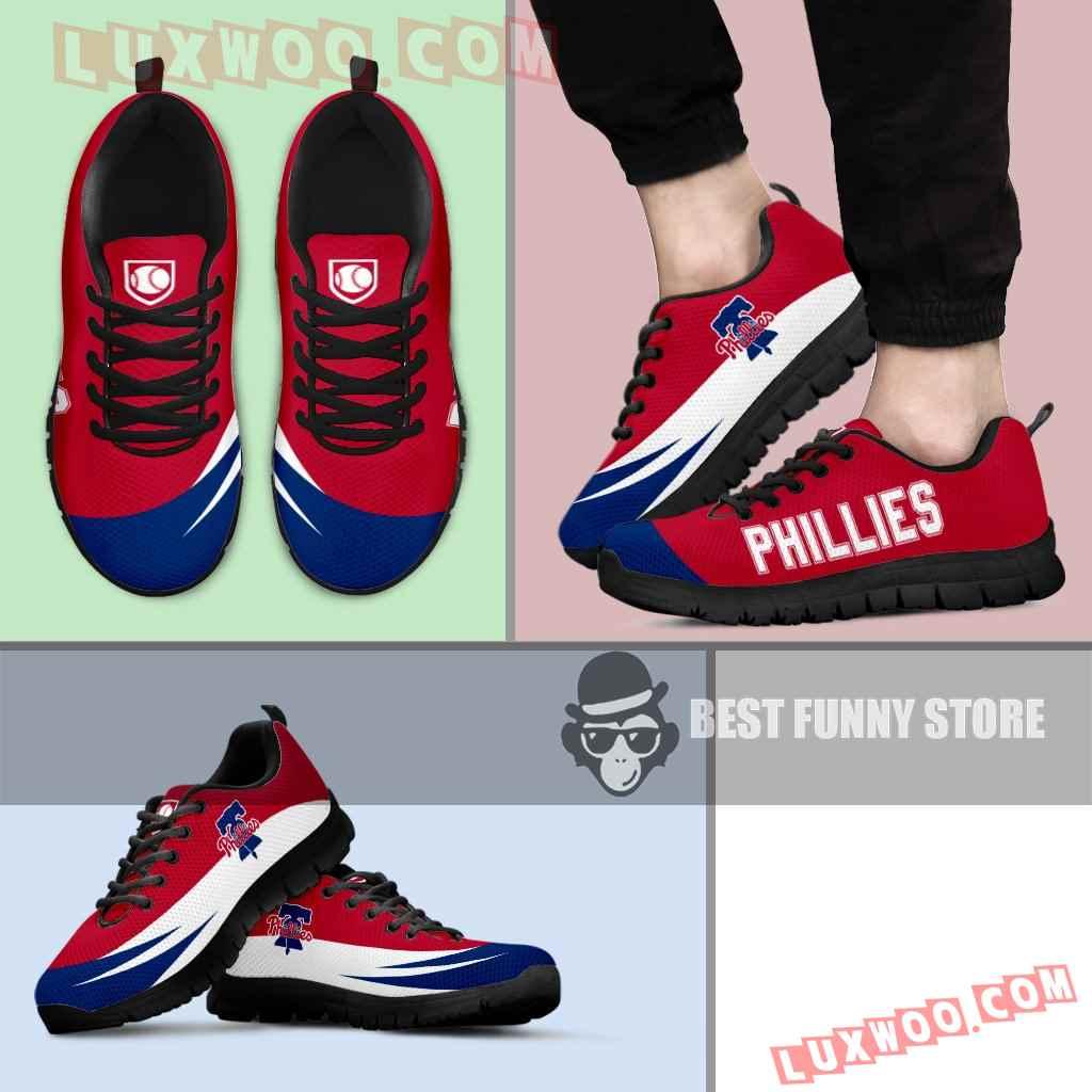 Awesome Gift Logo Philadelphia Phillies Sneakers