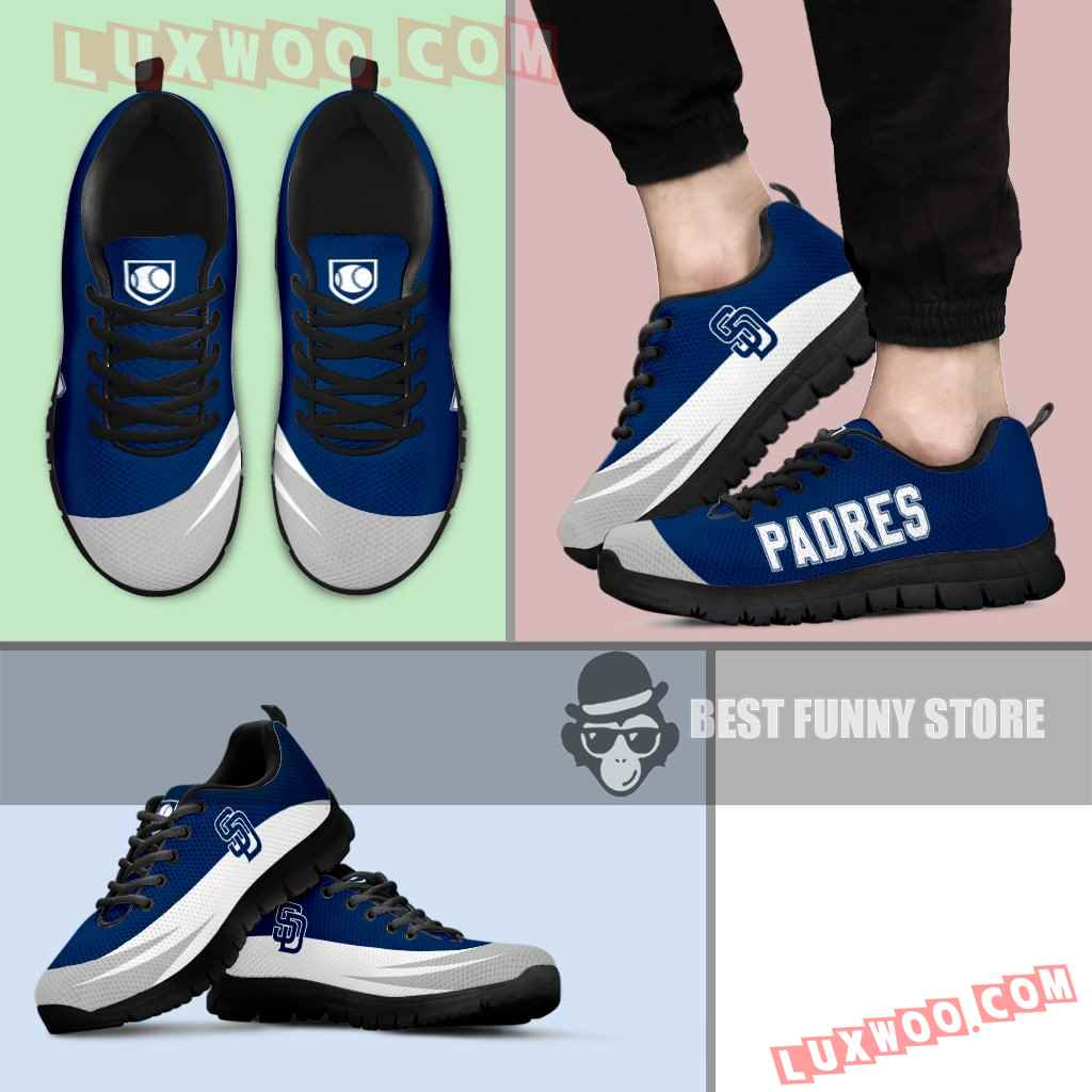 Awesome Gift Logo San Diego Padres Sneakers