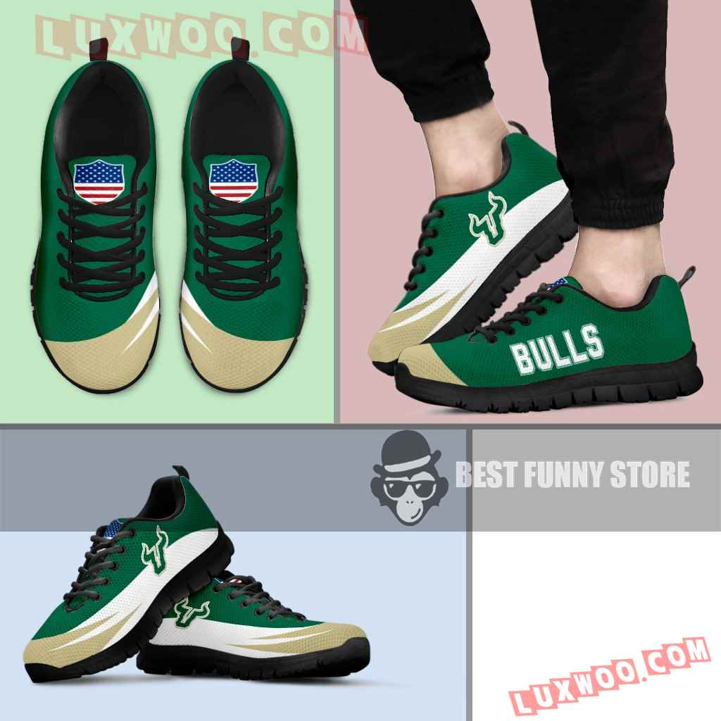Awesome Gift Logo South Florida Bulls Sneakers