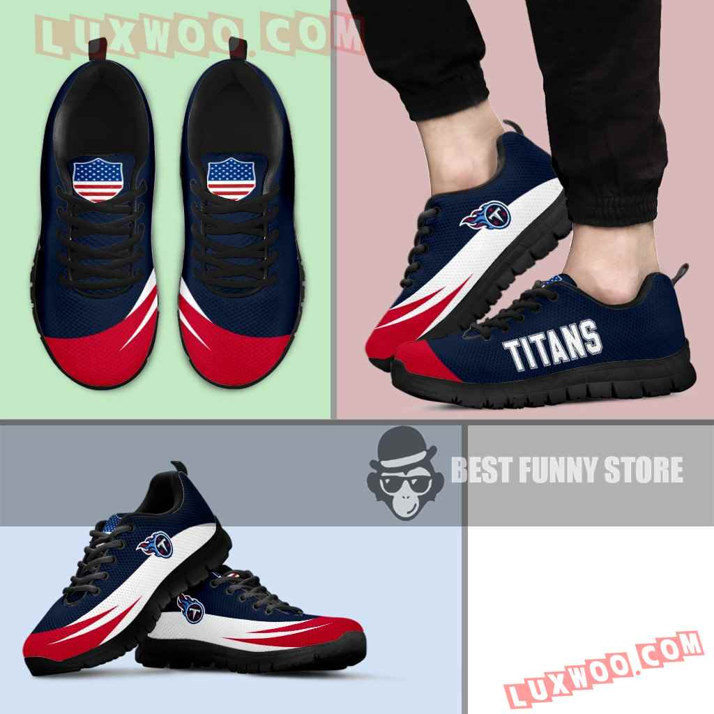 Awesome Gift Logo Tennessee Titans Sneakers