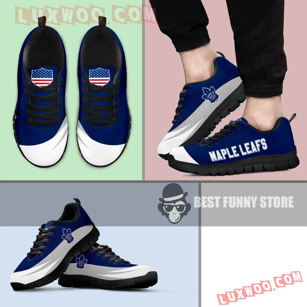 Awesome Gift Logo Toronto Maple Leafs Sneakers
