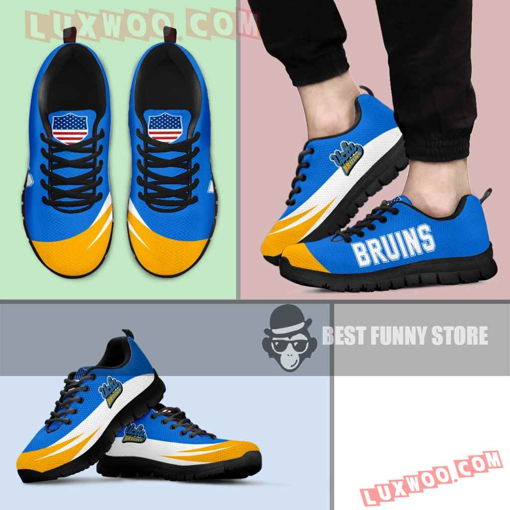 Awesome Gift Logo Ucla Bruins Sneakers